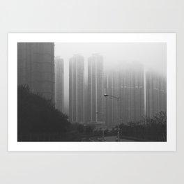 LOHAS park, Hong Kong Art Print