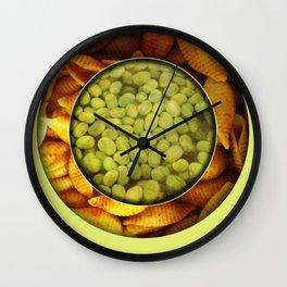 Food Mix Tris Wall Clock