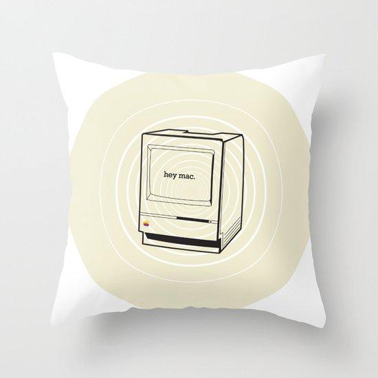 mac Throw Pillow