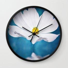Cosmea Wall Clock