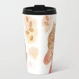 Fox and cakes Travel Mug