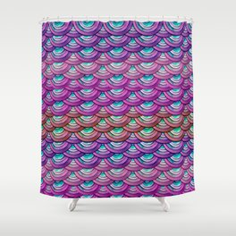 Dragon Scales Shower Curtain