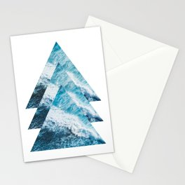Abstract Ocean Waves No1 Stationery Cards