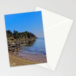 Rocky Coastline Stationery Cards