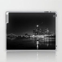 Detroit Skyline at night Laptop & iPad Skin