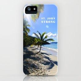 St. John Strong iPhone Case
