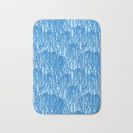 Cascading Wisteria in Blue Bath Mat