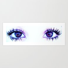 Your Eyes Say It All Art Print