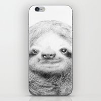 sloth iPhone & iPod Skins featuring Sloth by Eric Fan
