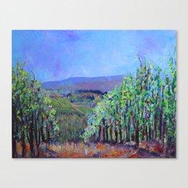 Hillsides of Tuscany Canvas Print