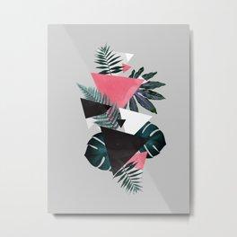 Greenery Balance Metal Print