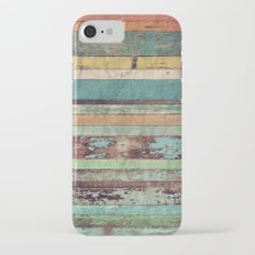 Wooden Vintage  iPhone 7 Slim Case