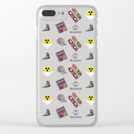 Roads? we don't need roads... Clear iPhone Case
