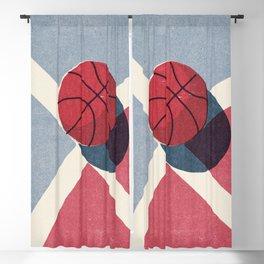 BALLS / Basketball (Outdoor) Blackout Curtain