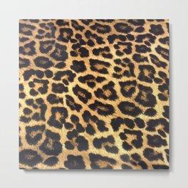 Leopard Print pattern - Leopard spots - Texture Metal Print