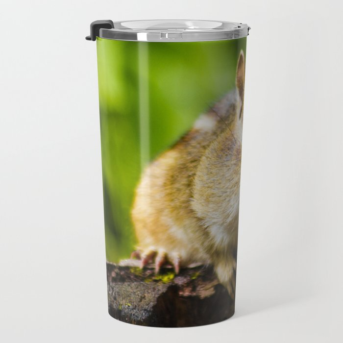 Caught With His Mouth Full Travel Mug