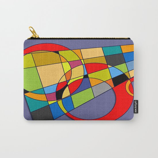 Abstract #52 Carry-All Pouch