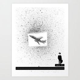Flight 474 Art Print