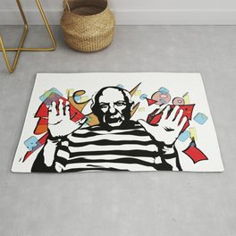Picasso vector Rug
