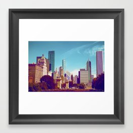 Chicago Buildings 5 Framed Art Print