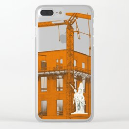 Wings of desire Clear iPhone Case