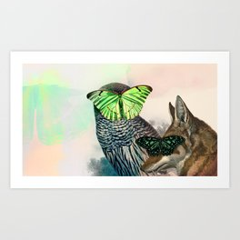 C. nebulosa Art Print