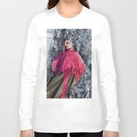 scary Long Sleeve T-shirts featuring Scary! by IowaShots