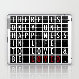 Destination Sign Love Laptop & iPad Skin