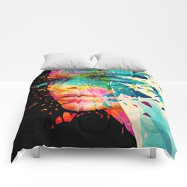 Paintflowers Comforters
