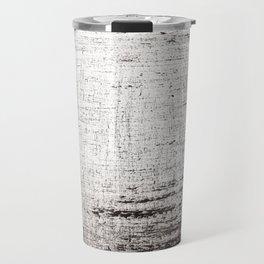 Sketchy Black and White Absrtaction Travel Mug
