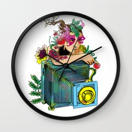 WOMAN COLOR Wall Clock