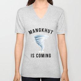 MANGKHUT IS COMING Unisex V-Neck