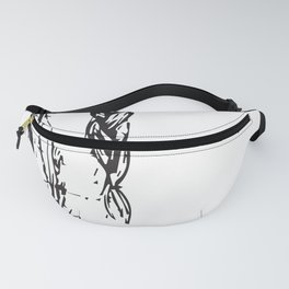 Horse Drawing Fanny Pack