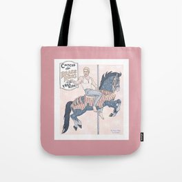 The Brass Ring Tote Bag