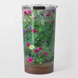 Color Array Of Petunia Travel Mug