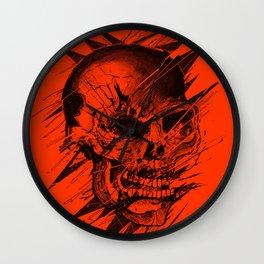 Skull's Not Dead Wall Clock