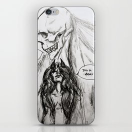 The Only Certainty iPhone Skin