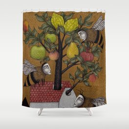 We need the BEE! Shower Curtain