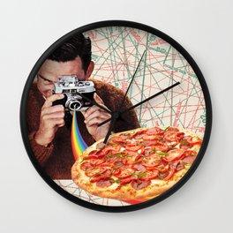 pizza obsession Wall Clock