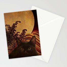 Japanese cat-82 Stationery Cards