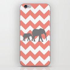 Chevron Elephants iPhone & iPod Skin