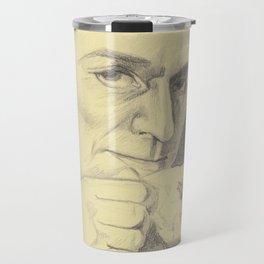 Grumpy Major Andre and his Tea Travel Mug