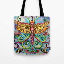 Summer of the Dragonfly Tote Bag
