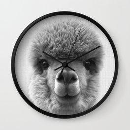 Alpaca Smile Wall Clock