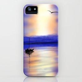 Digital Sunset iPhone Case