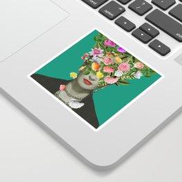 Frida Floral Sticker