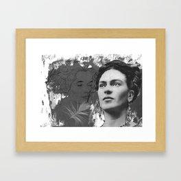 Tribute to Frida Kahlo #24 Framed Art Print