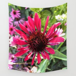 Hot Pink Beauty Wall Tapestry