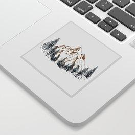 mountain # 4 Sticker