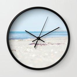 By beach Wall Clock